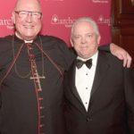 Archbishop Dolan and ArchCare CEO Scott LaRue.