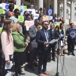 """""""ICE does not get to stake out courts until they find someone to deport,"""" said Councilmember Francisco Moya."""