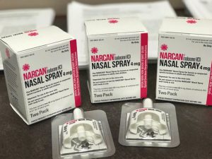 Narcan kits were distributed.