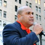 LiUNA Local 78's Edison Severino said laws should mandate greater protections for workers.