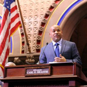 """He had an uncanny ability to bridge divides,"" said State Assembly Speaker Carl Heastie."