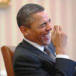 Obama lets loose.