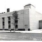La sucursal de Inwood en 1952.
