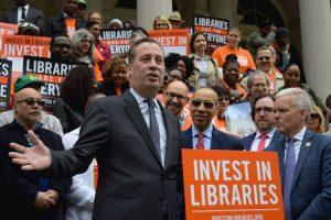 New York Public Library President (NYPL) Tony Marx.
