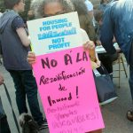 """""""They don't have to tear our whole community apart,"""" said resident Paloma Lara."""