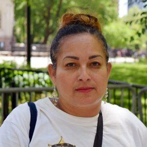 """My family is still in limbo,"" said Puerto Rican activist Daisy Rodríguez."