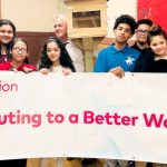 """The project was part of EL Education's """"Better World Day."""""""