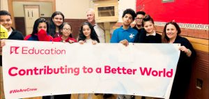 "The project was part of EL Education's ""Better World Day."""
