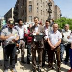 """""""We are in the middle of a crisis,"""" said Councilmember Ydanis Rodríguez (center)."""
