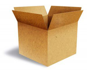 A cardboard box might well serve as an excellent and creative home-made costume for your child.