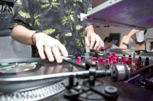 Drop the beat.