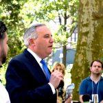 """""""Nueva York es donde podemos hacer una diferencia"""", dijo el vicepresidente ejecutivo de WCS, John Calvelli."""