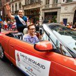 """El periodista David Begnaud fue reconocido como un """"campeón puertorriqueño""""."""
