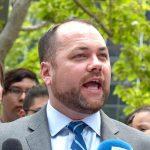 """He poses no threat,"" said City Council Speaker Corey Johnson."