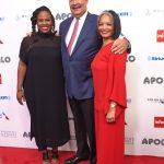 Desde la izquierda: productora ejecutiva del Apollo Kamilah Forbes; Richard Parsons; yla presidenta y directora general del Apollo,Jonelle Procope.
