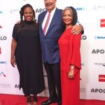 From left: Apollo Executive Producer Kamilah Forbes; Richard Parsons; and Apollo President and CEO Jonelle Procope.