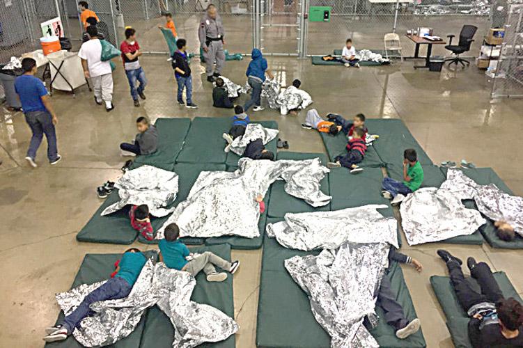 Un centro de detención juvenil en Texas.