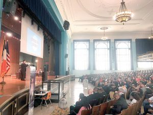 The summit was held at the George Washington Education Campus.