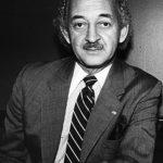 """Herman """"Denny"""" Farrell sirvióen la Asamblea de 1974 a 2017."""