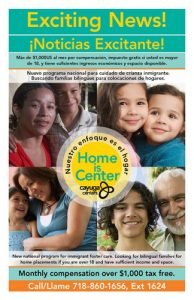 Foster care parents are needed.
