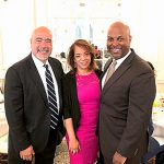 LatinoJustice President Juan Cartagena (left) with honoree Alejandra Castillo and board member Cid Wilson. Photo: C. Wilson