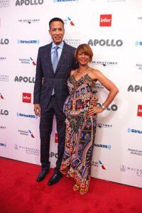 Charles Phillips, presidente de la Gala, y su esposa Rachel Phillips.