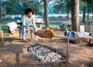 A feast is prepared.