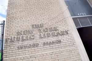 La Biblioteca Inwood fue nombrada como una de las mejores sucursales en 2016.