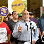 """Tish James is better prepared than anybody else,"" argued RWDSU President Stuart Applebaum."