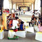 La organización sin fines de lucro crea ambientes de aprendizaje en espacios públicos.