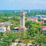 El campus principal de la Universidad de Puerto Rico.