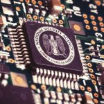 The author points to unauthorized wiretapping by the NSA.