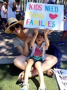 Las familias de Nueva York han demostrado apoyo.