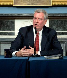 Mayor Bill de Blasio Photo: Michael Appleton