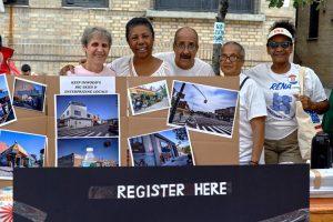 Members of the Riverside Edgecombe Neighborhood Association.