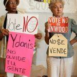"""Los locales dicen """"No"""" a la rezonificación de Inwood."""