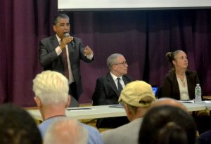 """Anything is possible in this neighborhood,"" thundered Adriano Espaillat."