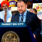"""We're doing what is right for the city of New York,"" said City Council Speaker Corey Johnson."