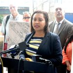 """""""Es hora de que sea contada esta historia"""", dijo la senadora estatal Marisol Alcántara."""