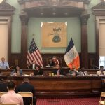 The Council sub-committees vote at City Hall.