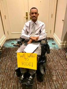 Advocates for the wheelchair-accessible pushed for the legislation.