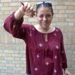 """La rezonificación se trata de colonización"", dijo Lena Meléndez. Foto: D. Johnson"