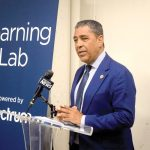 """You're a great partner with this community,"" said Congressman Adriano Espaillat."