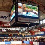 El torneo fue transmitido en el Jumbotron.