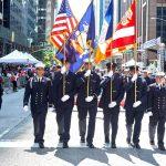 Miembros del Departamento de Policía de Nueva York.