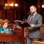 Council Speaker Corey Johnson.