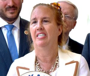 Gale Brewer, presidenta del condado de Manhattan.