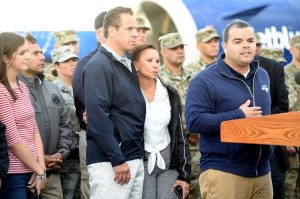Assemblymember Marcos Crespo traveled to Puerto Rico in the hurricane's aftermath.