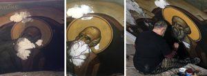 San Juan el Teólogo es restaurado.
