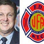 Gerard Fitzgerald es el presidente de la Asociación de Bomberos Uniformados (UFA, por sus siglas en inglés).